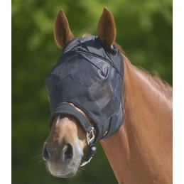 Vliegenmasker Premium zonder oren zwart