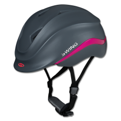 Paardrijhelm Kind K4 Ride & Bike Blauw