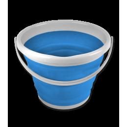 Opvouwbare emmer blauw 10 ltr