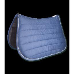 Dressuur zadeldek Torino Blauw / Creme