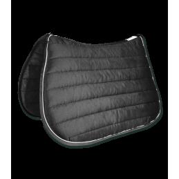 Dressuur zadeldek Torino Zwart / Grijs