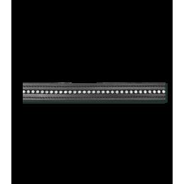 Webband teugels met strass steentjes wit