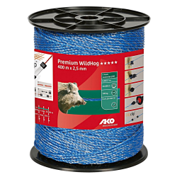 AKO schrikdraad PremiumLine blauw 2.5mm 400m