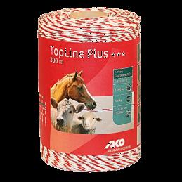 AKO TopLine Plus schrikdraad wit/rood 300mtr