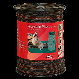 AKO Premium Plus schriklint bruin/oranje 20mm 200mtr