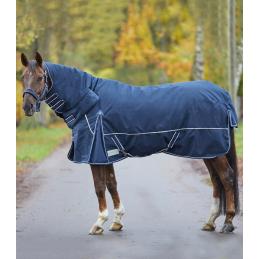 Outdoor deken Comfort Line met Volledige Nek 200 gram blauw