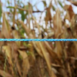 Schrikdraad 3mm blauw 1000m