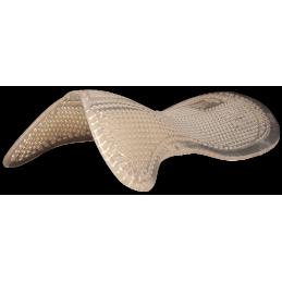 Gelpad zadelonderlegger met verhoging schoft