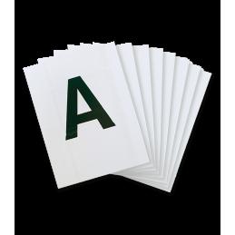 Letters voor in de paardenbak