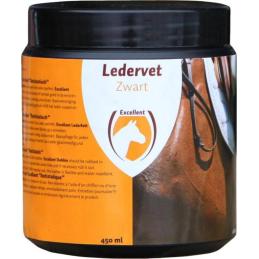 Ledervet Zwart 450 ml