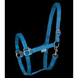 Halster Perlon Azuur Blauw